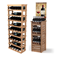 Ahşap Şarap Standları